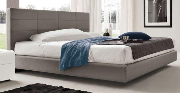 Spavaća soba - krevet s imbotiranim uzglavljem TIME
